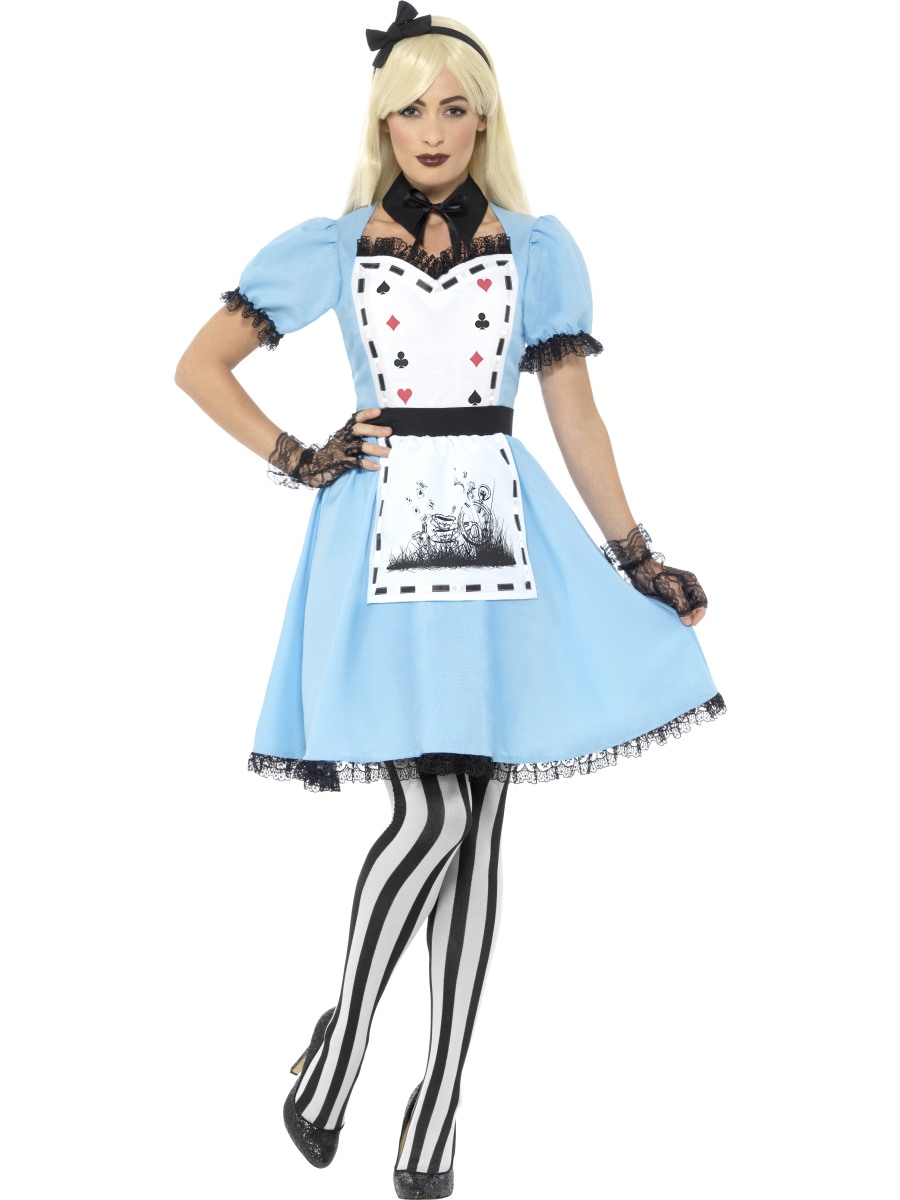 adult dark tea party costume  44712  fancy dress ball