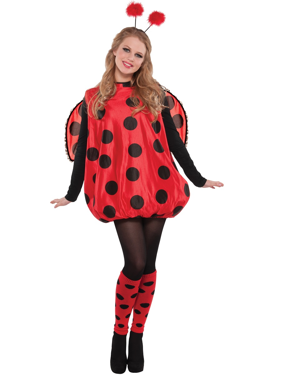 Adult Darling Ladybird Costume  841874 55  Fancy Dress Ball - Costume