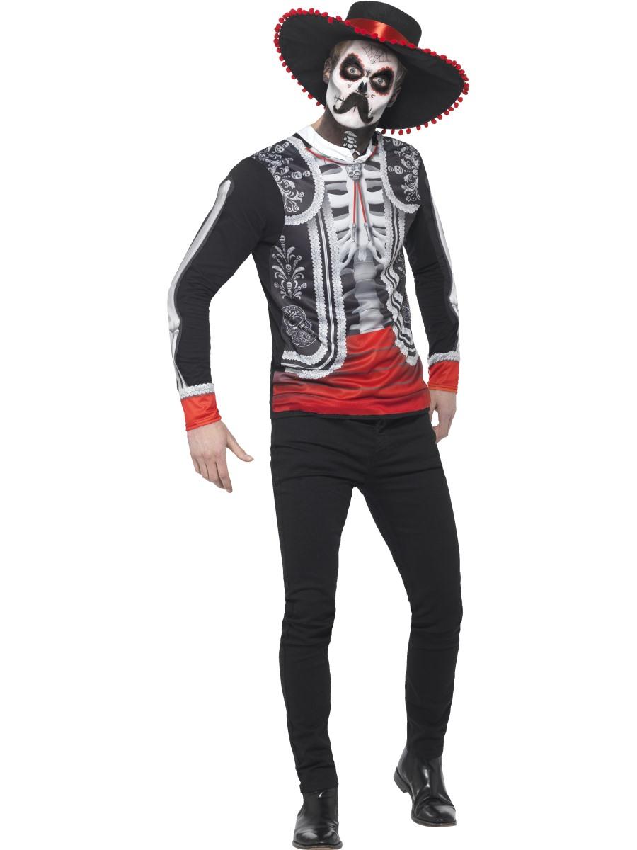 d45146fca23 Adult Day of the Dead El Senor Costume