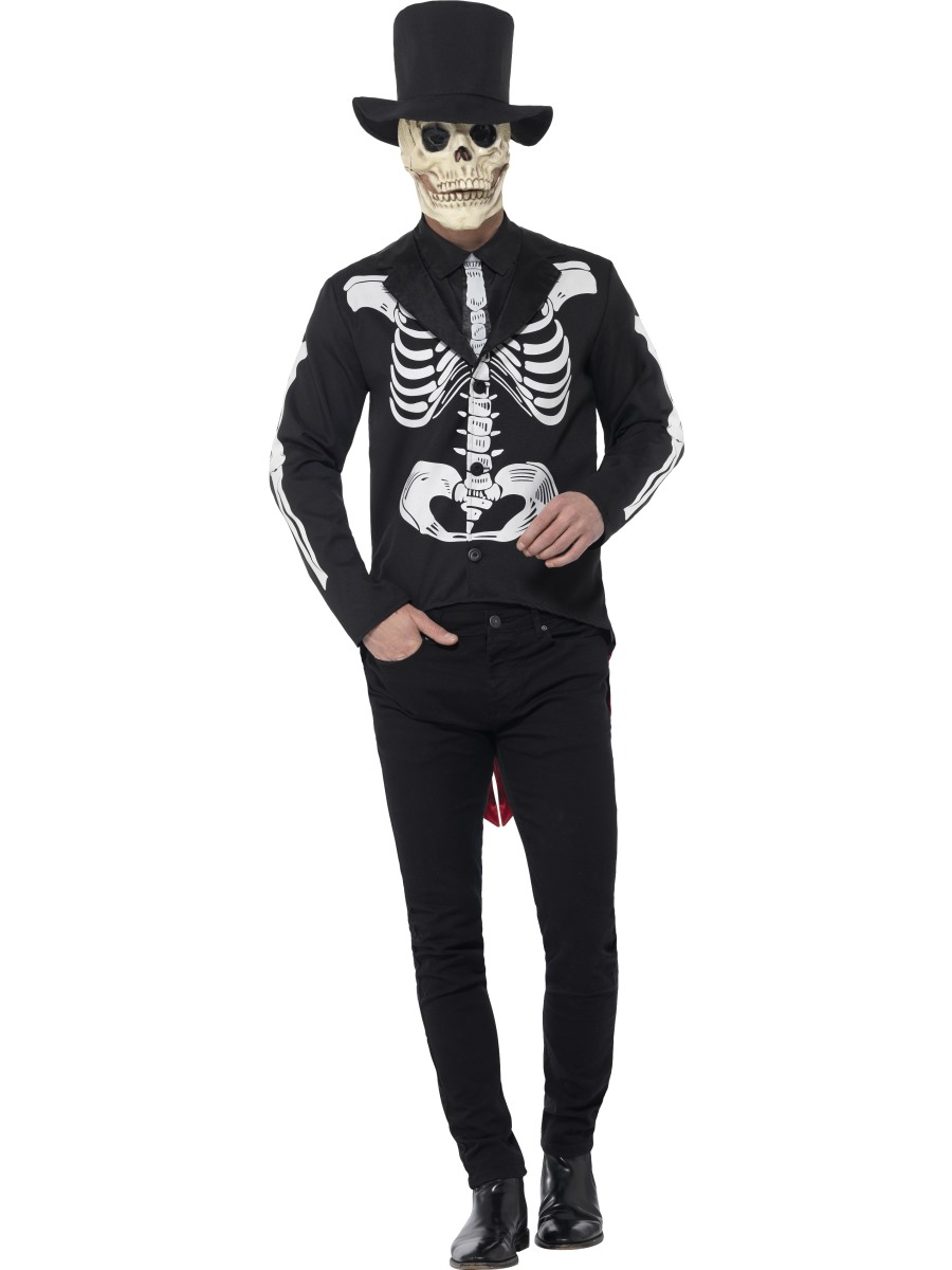Adult Day of the Dead Senor Skeleton Costume  sc 1 st  Fancy Dress Ball & Day of the Dead Halloween Costumes | Fancy Dress Ball