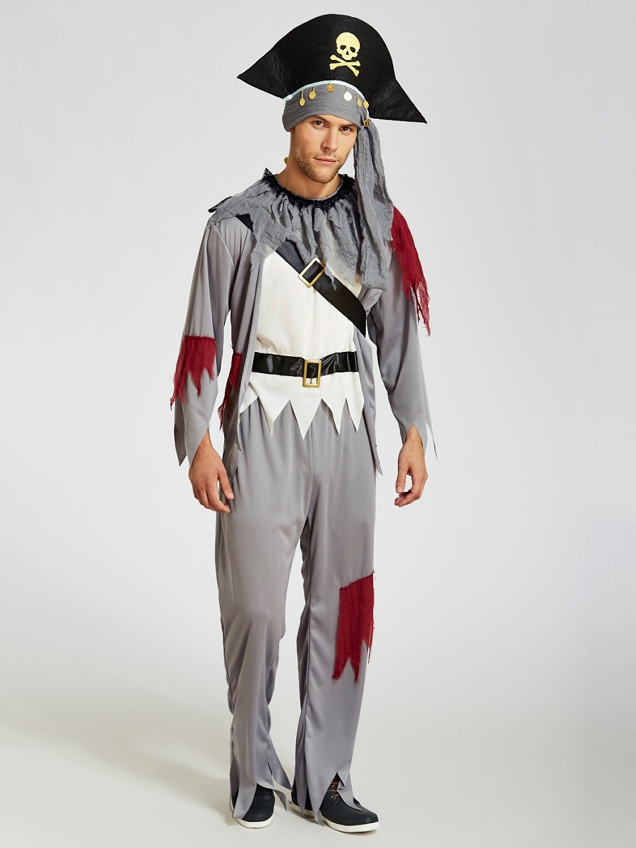Adult Death Pirate Costume  sc 1 st  Fancy Dress Ball & Adult Death Pirate Costume - 3153E - Fancy Dress Ball