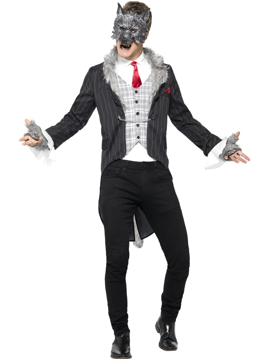 Adult Deluxe Big Bad Wolf Costume  sc 1 st  Fancy Dress Ball : deluxe werewolf costume  - Germanpascual.Com