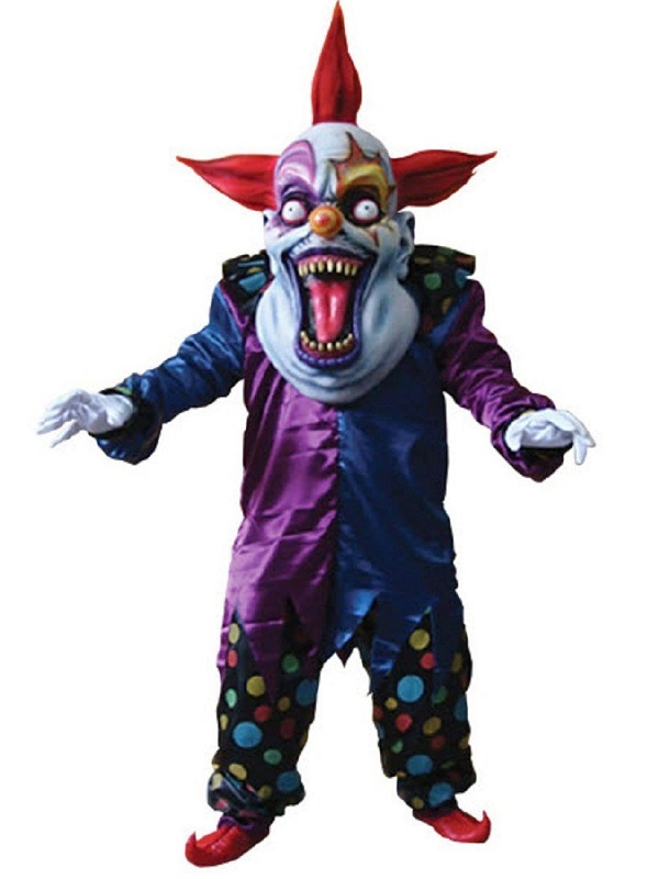 Adult Deluxe Evil Clown Costume - TA111 - Fancy Dress Ball