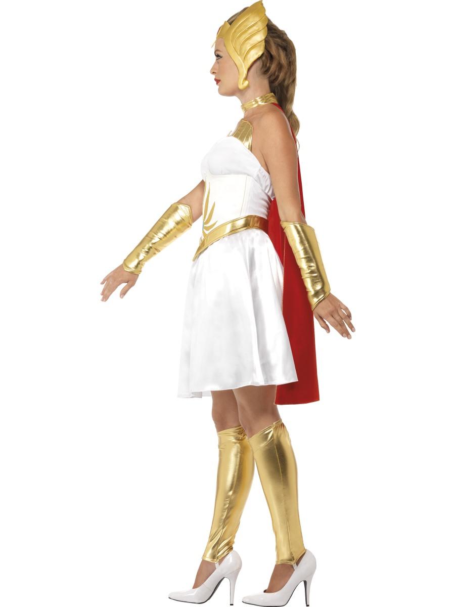 Adult Deluxe Latex She Ra Costume 20566 Fancy Dress Ball