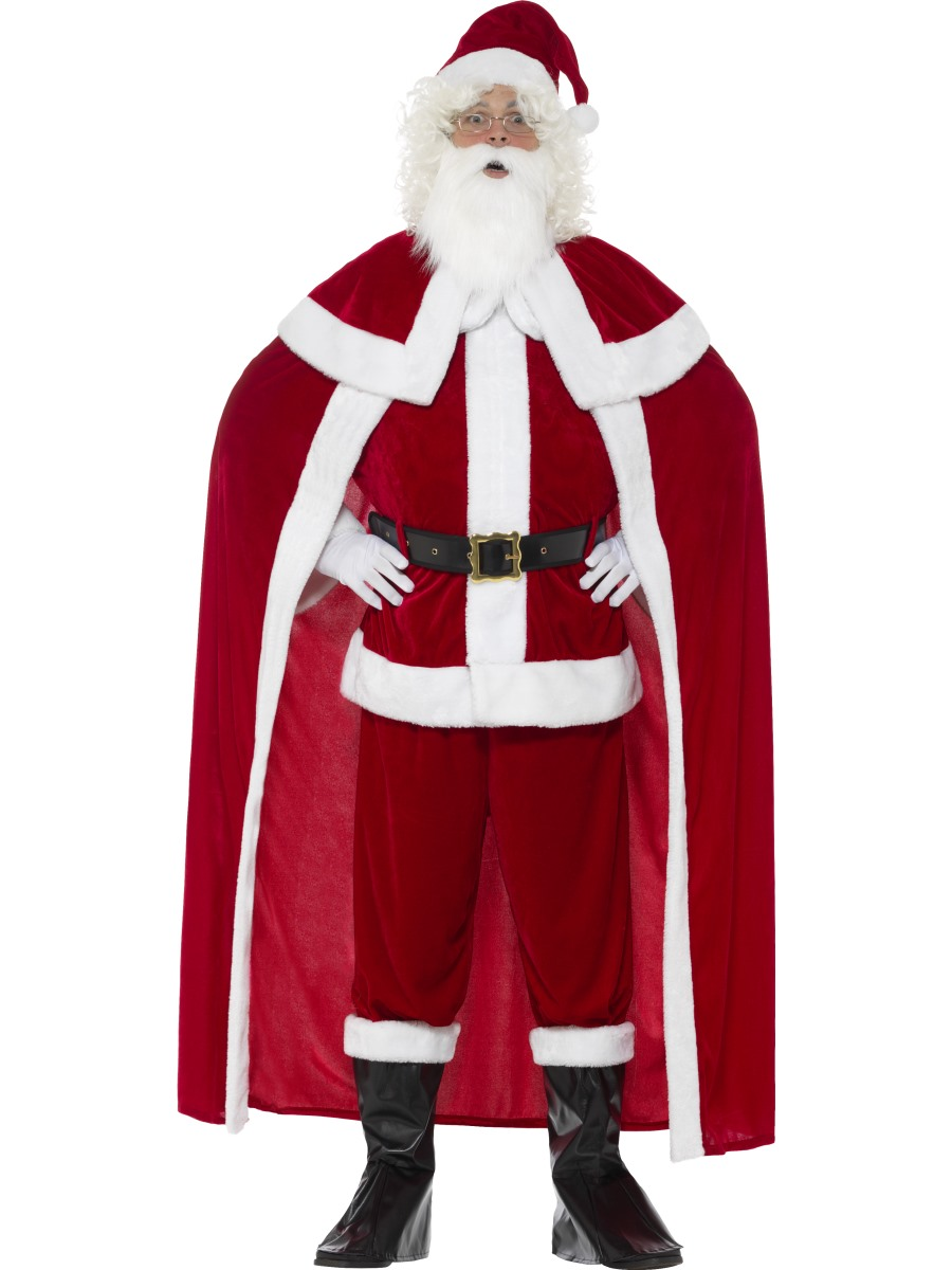 6ad9dd95ff6b Adult Deluxe Santa Claus Costume - 43124 - Fancy Dress Ball