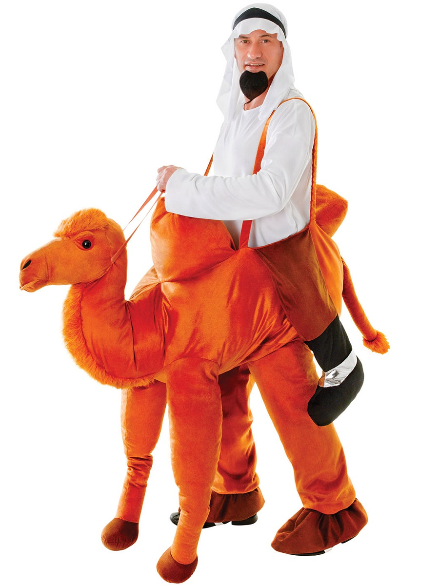 adult deluxe step in camel costume   ac447   fancy dress ball