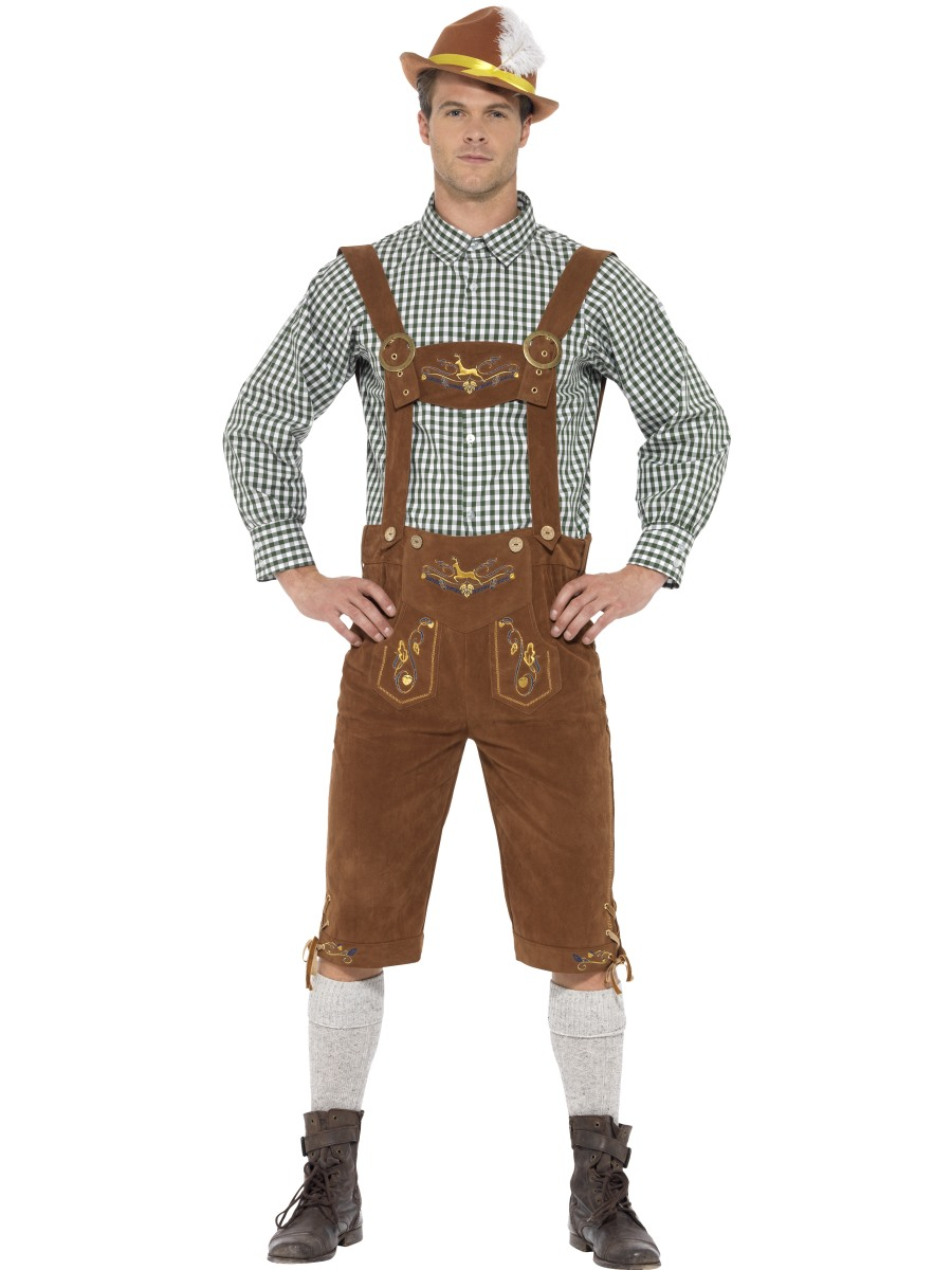 Adult Deluxe Traditional Hanz Bavarian Costume 45266