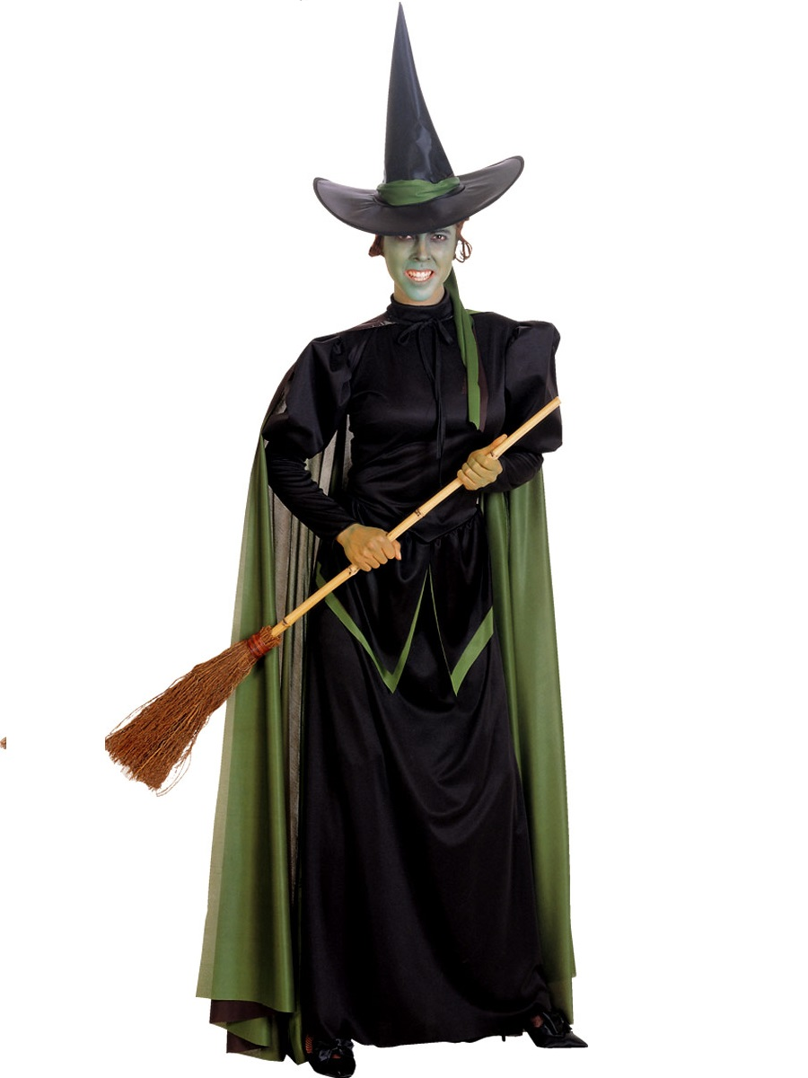 Adult Deluxe Wicked Witch Costume - 15478 - Fancy Dress Ball