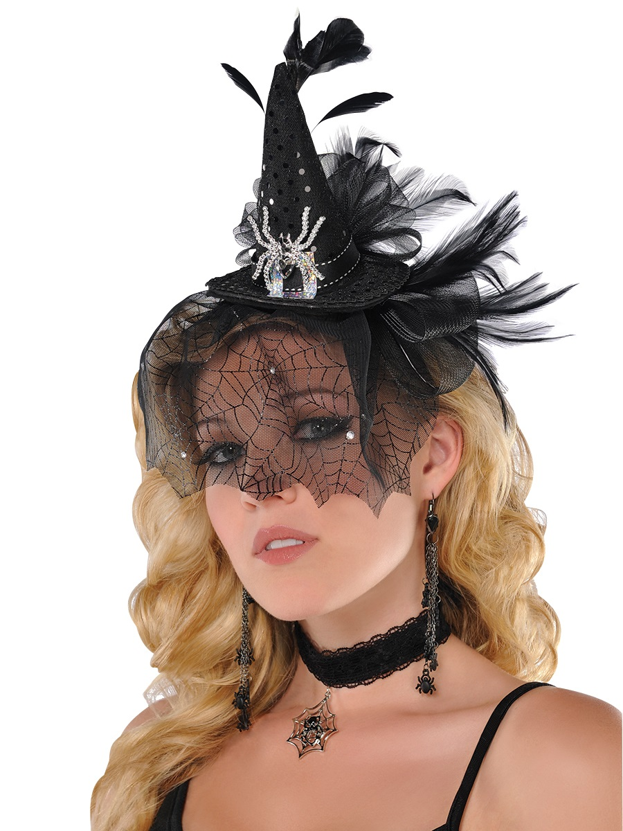 Adult Deluxe Witch Headband 840872 55 Fancy Dress Ball