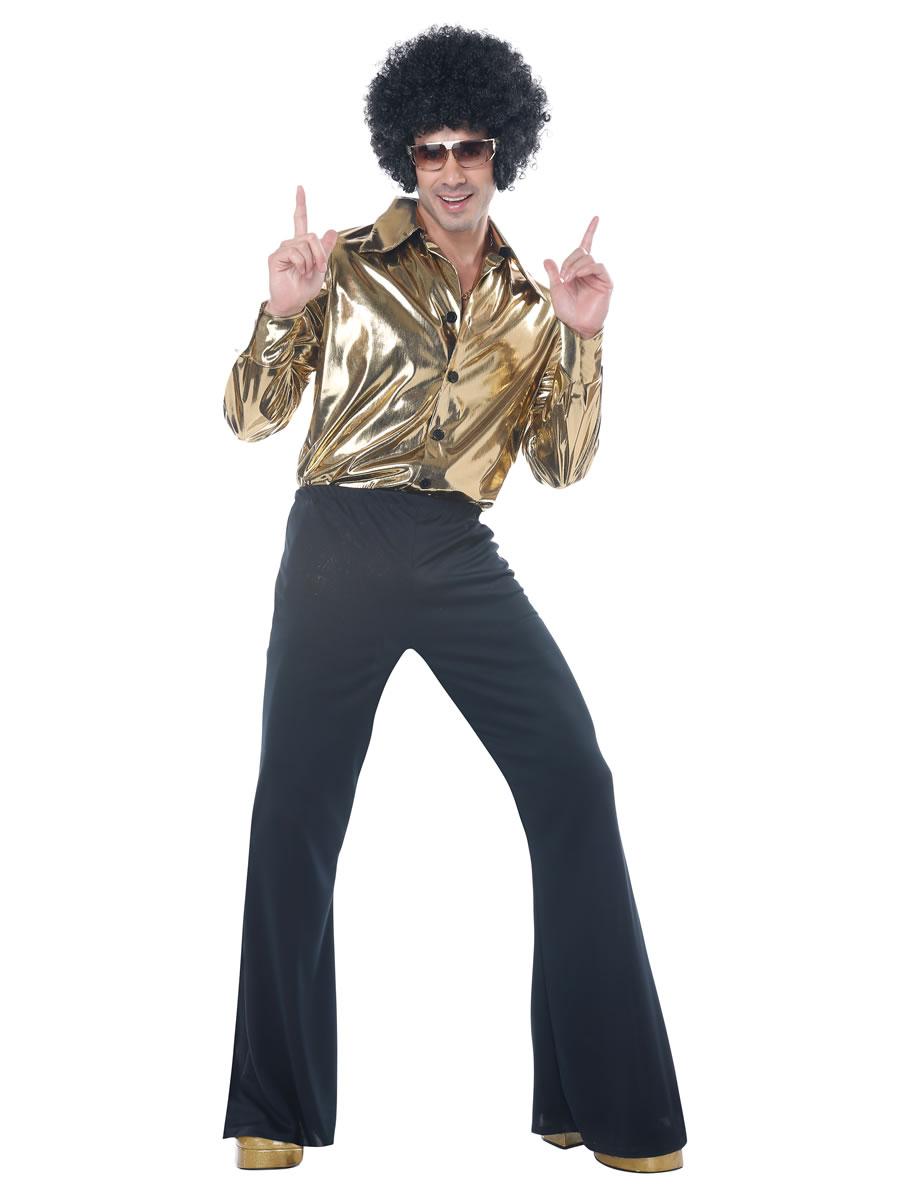 adult disco king costume  01249  fancy dress ball