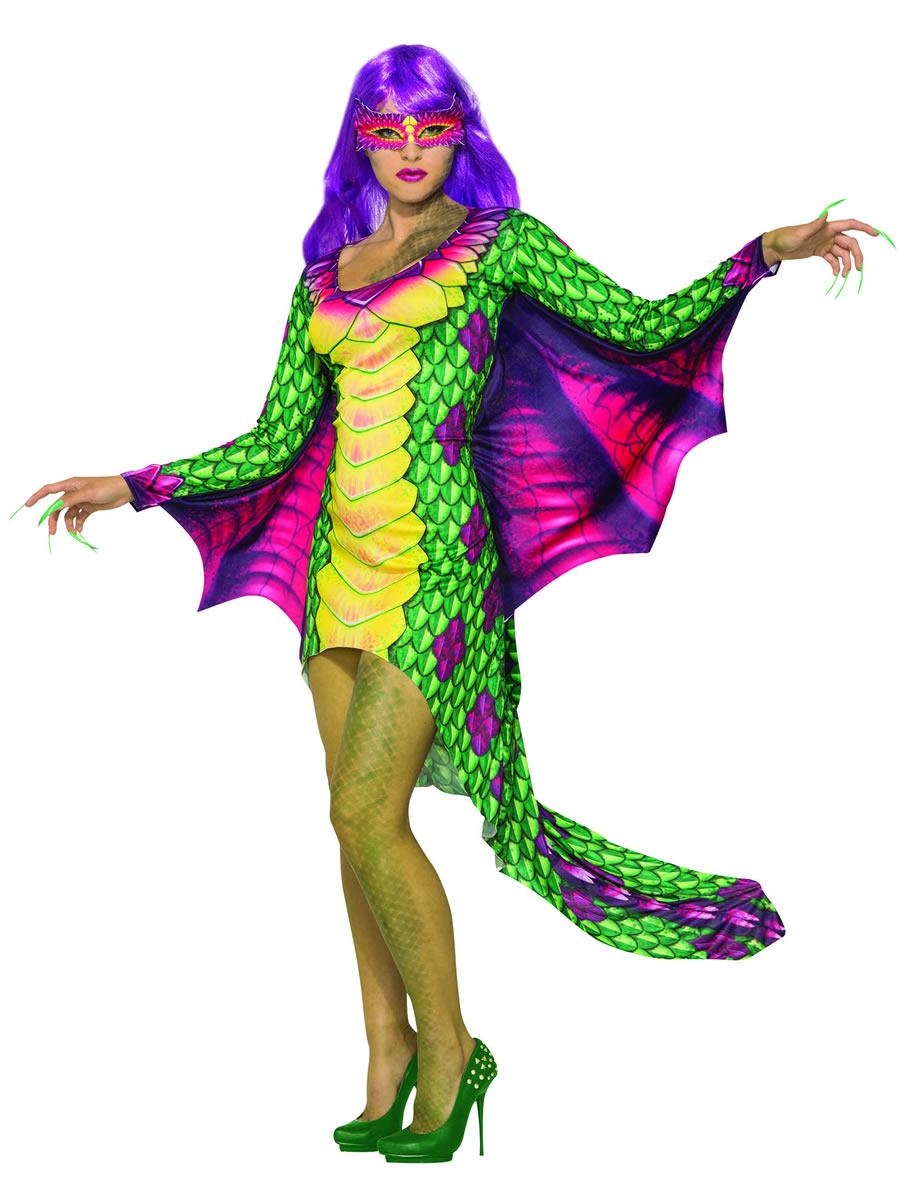 Adult Dragon Dress Costume Ac80917 Fancy Dress Ball