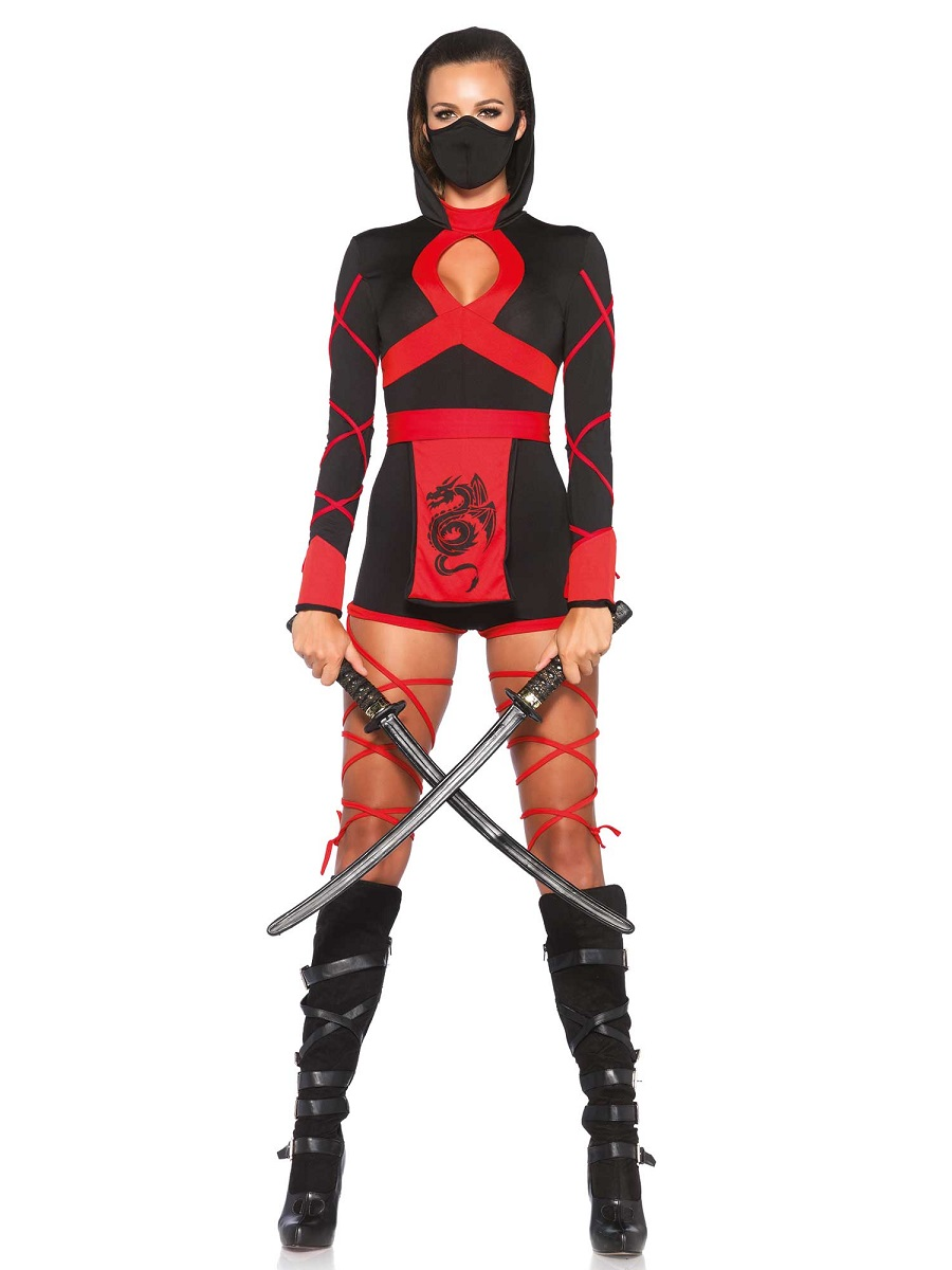 adult dragon ninja costume 85401 fancy dress ball
