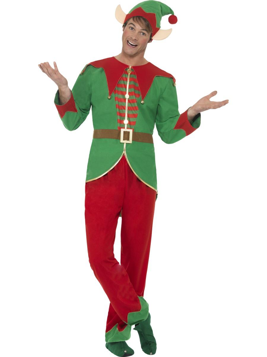 adult elf costume 46752 fancy dress ball. Black Bedroom Furniture Sets. Home Design Ideas