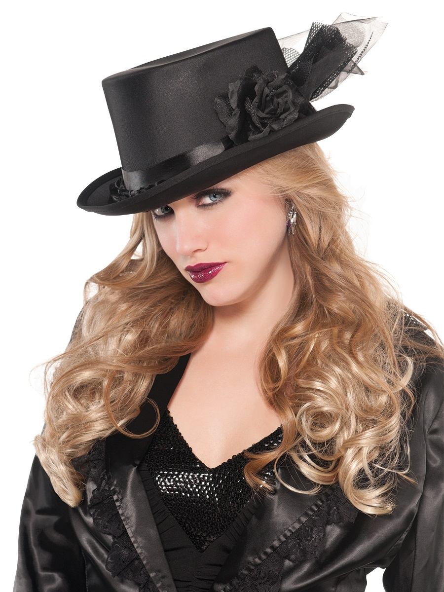 Adult Embellished Top Hat 841675 55 Fancy Dress Ball