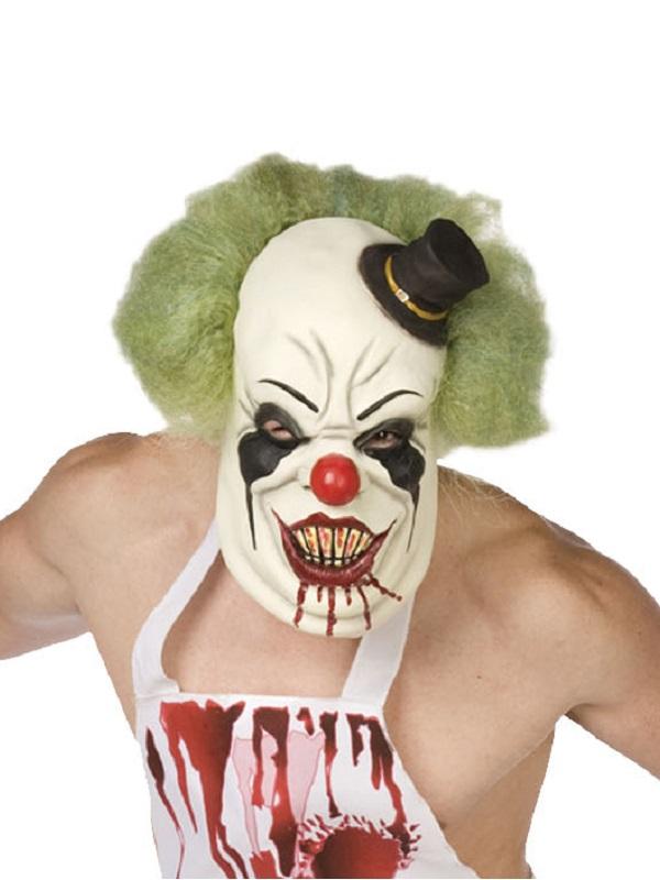 Halloween Popular Latex Fear Of Clowns Jester Psycho Scary Fancy Dress Up Masks