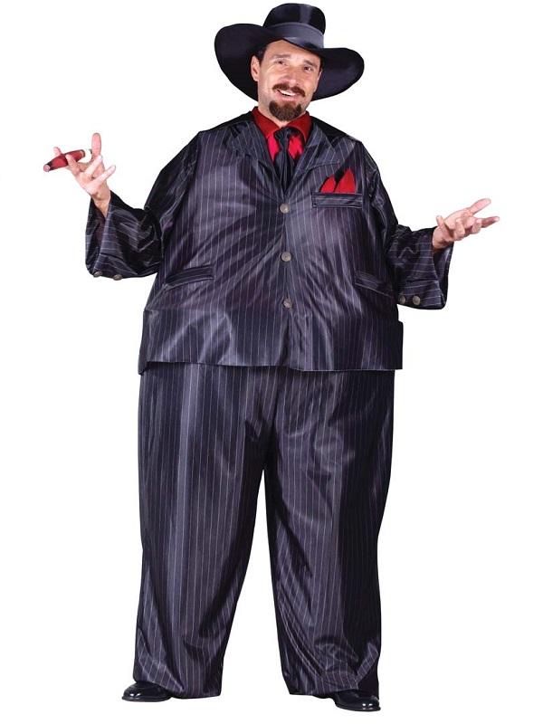 adult fat tony gangster costume 1085 fancy dress ball. Black Bedroom Furniture Sets. Home Design Ideas
