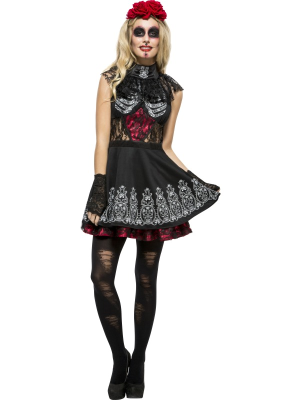 7801f53c03c Day of the Dead Halloween Costumes