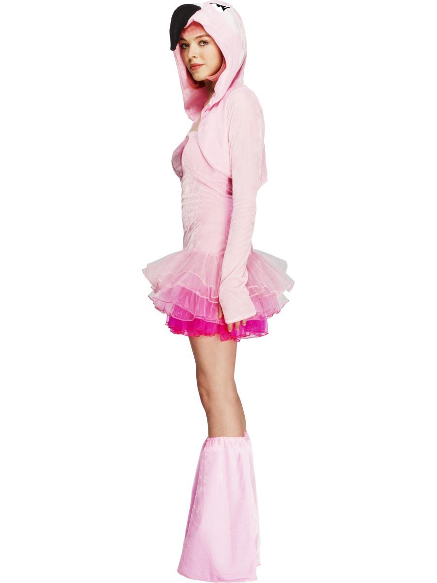 adult fever flamingo costume 40092 fancy dress ball. Black Bedroom Furniture Sets. Home Design Ideas