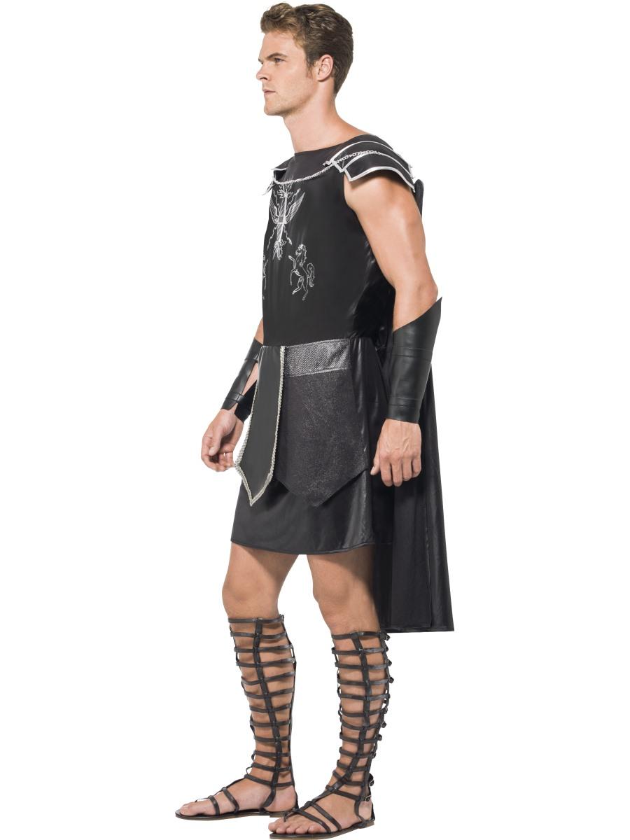 Adult Fever Male Dark Gladiator Costume 55028 Fancy