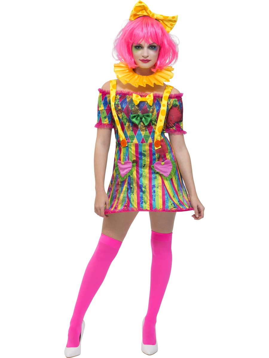 adult fever patchwork clown costume 47015 fancy dress ball