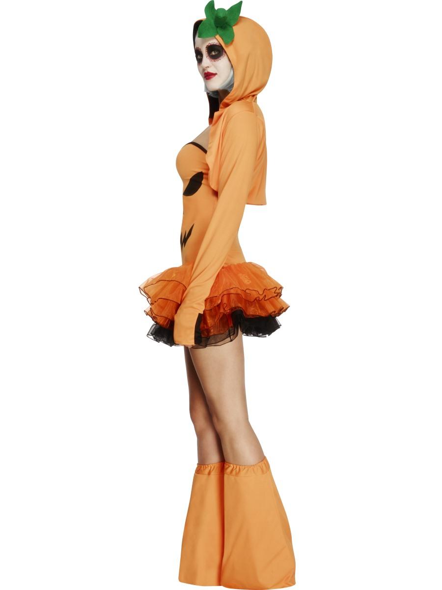 Adult Fever Pumpkin Costume 45397 Fancy Dress Ball