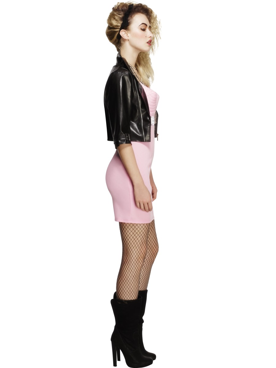 Adult 80s rocker diva costume 43477 fancy dress ball for Garderobe 80 jahre