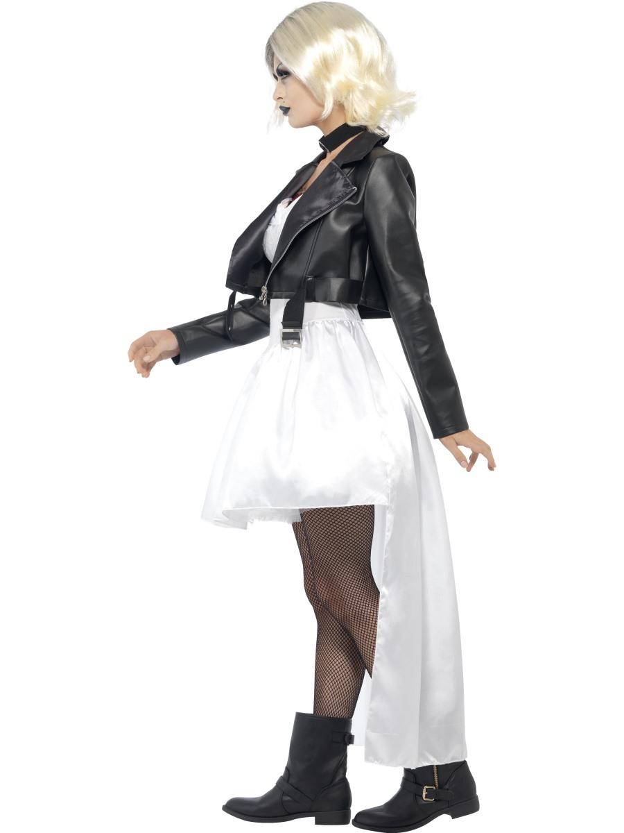 Adult Bride Chucky Costume Fancy Dress Ball