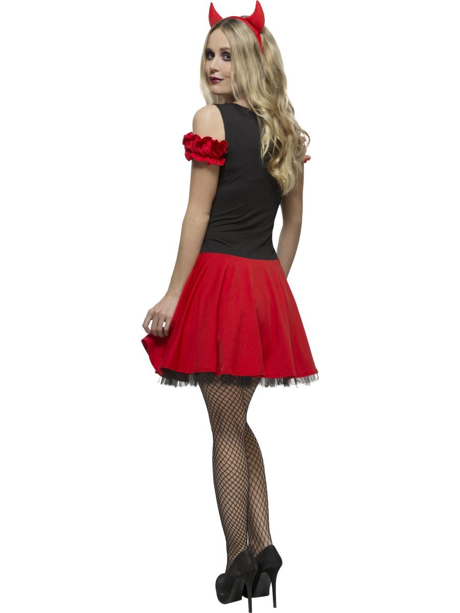 Adult Fever Wicked Devil Costume - 30886 - Fancy Dress Ball