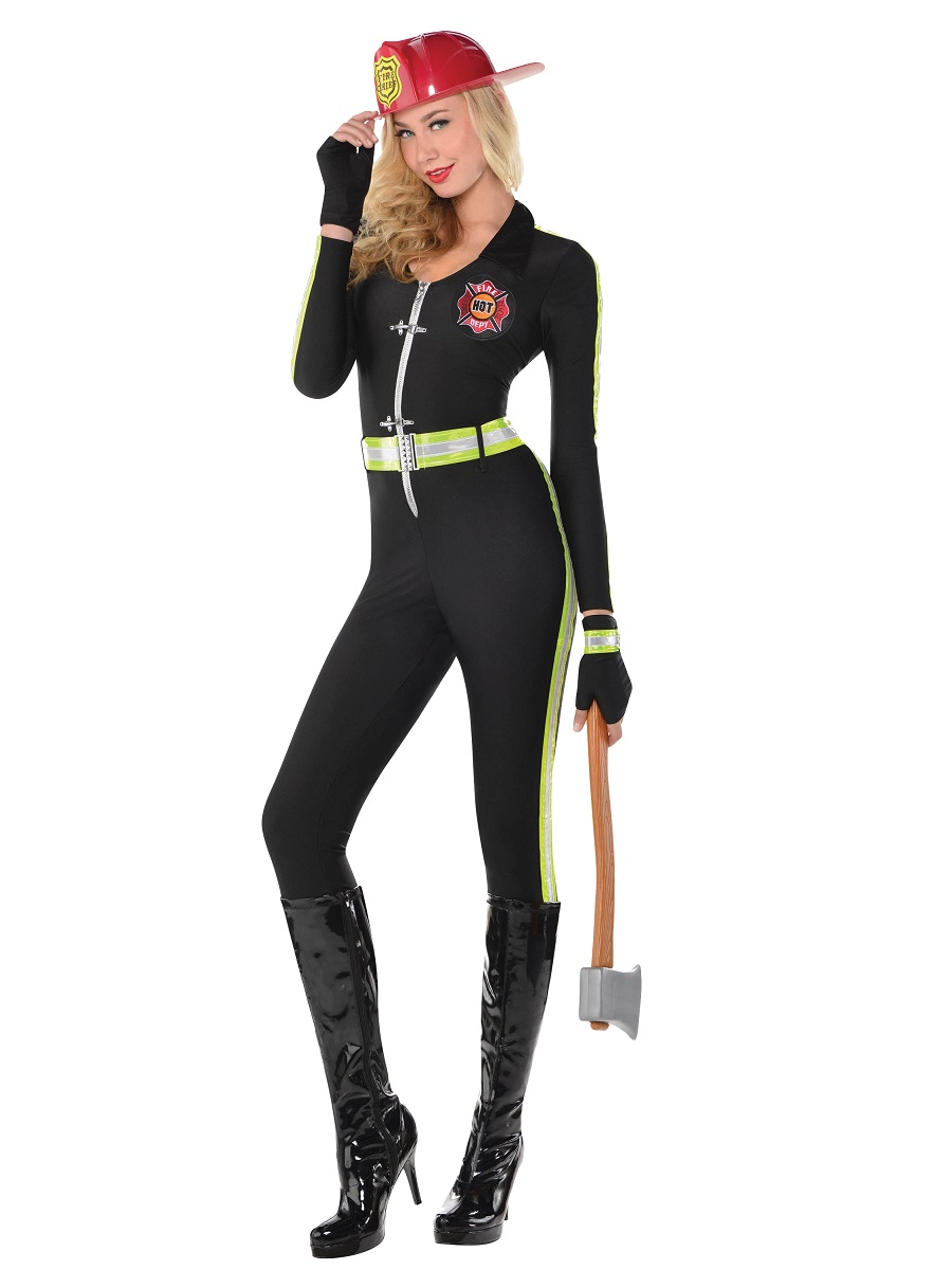 63b3ac522a3 Adult Fired Up Costume. New · Adult Fired Up Costume - Firewoman Costume ·  £21.99 · Adult Ladies Deluxe Sexy Firefighter Costume