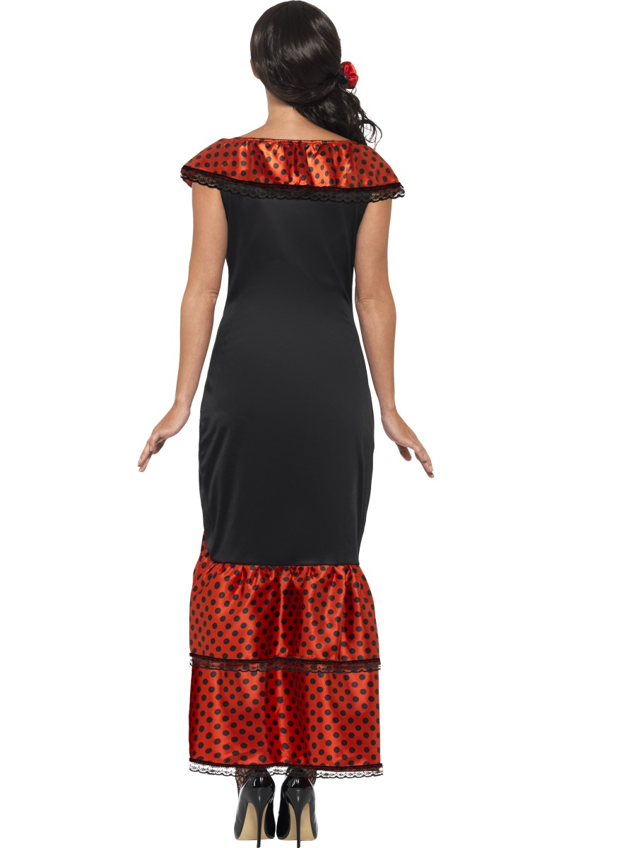 Adult Flamenco Senorita Costume - 45514 - Fancy Dress Ball