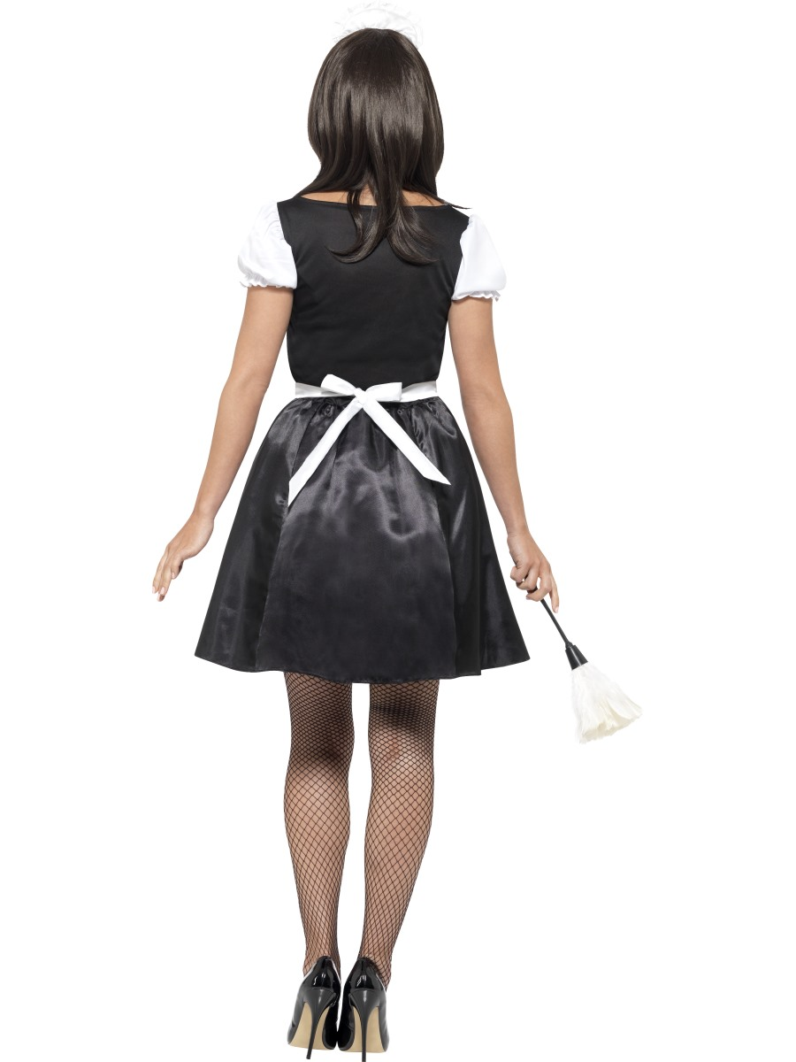 Adult French Maid Costume - 45504 - Fancy Dress Ball