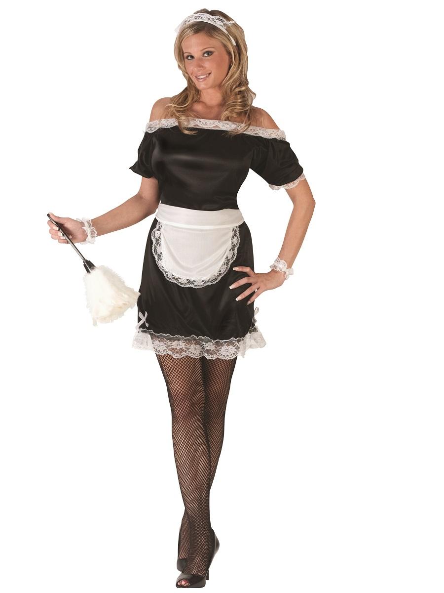 french uniform Mature maid