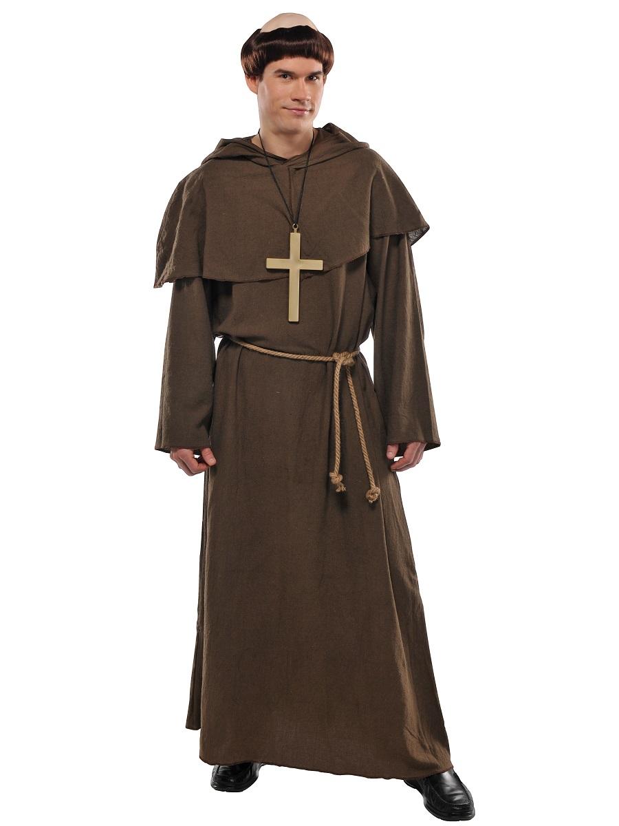 adult friar tuck costume 840241 55 fancy dress ball. Black Bedroom Furniture Sets. Home Design Ideas