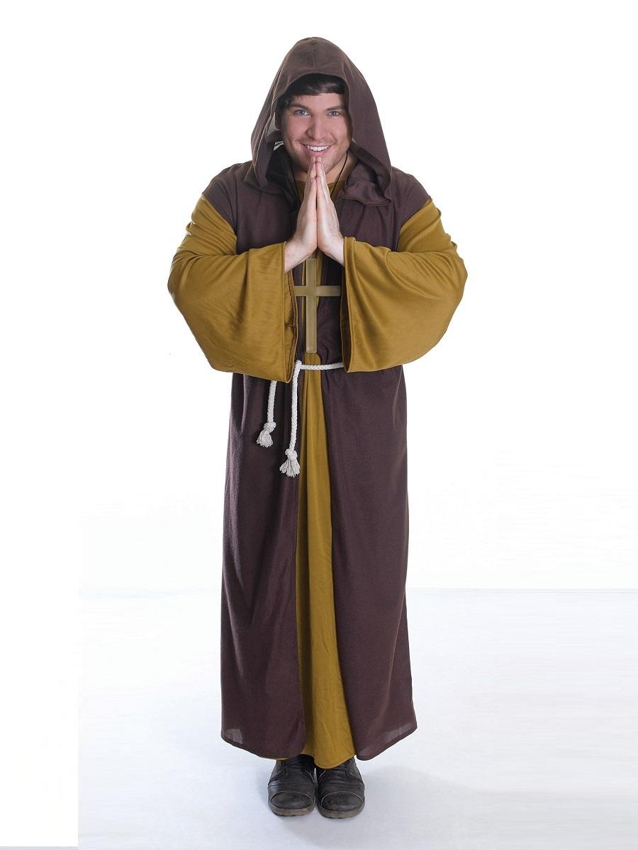 Adult Friar Tuck Costume - AC708 - Fancy Dress Ball