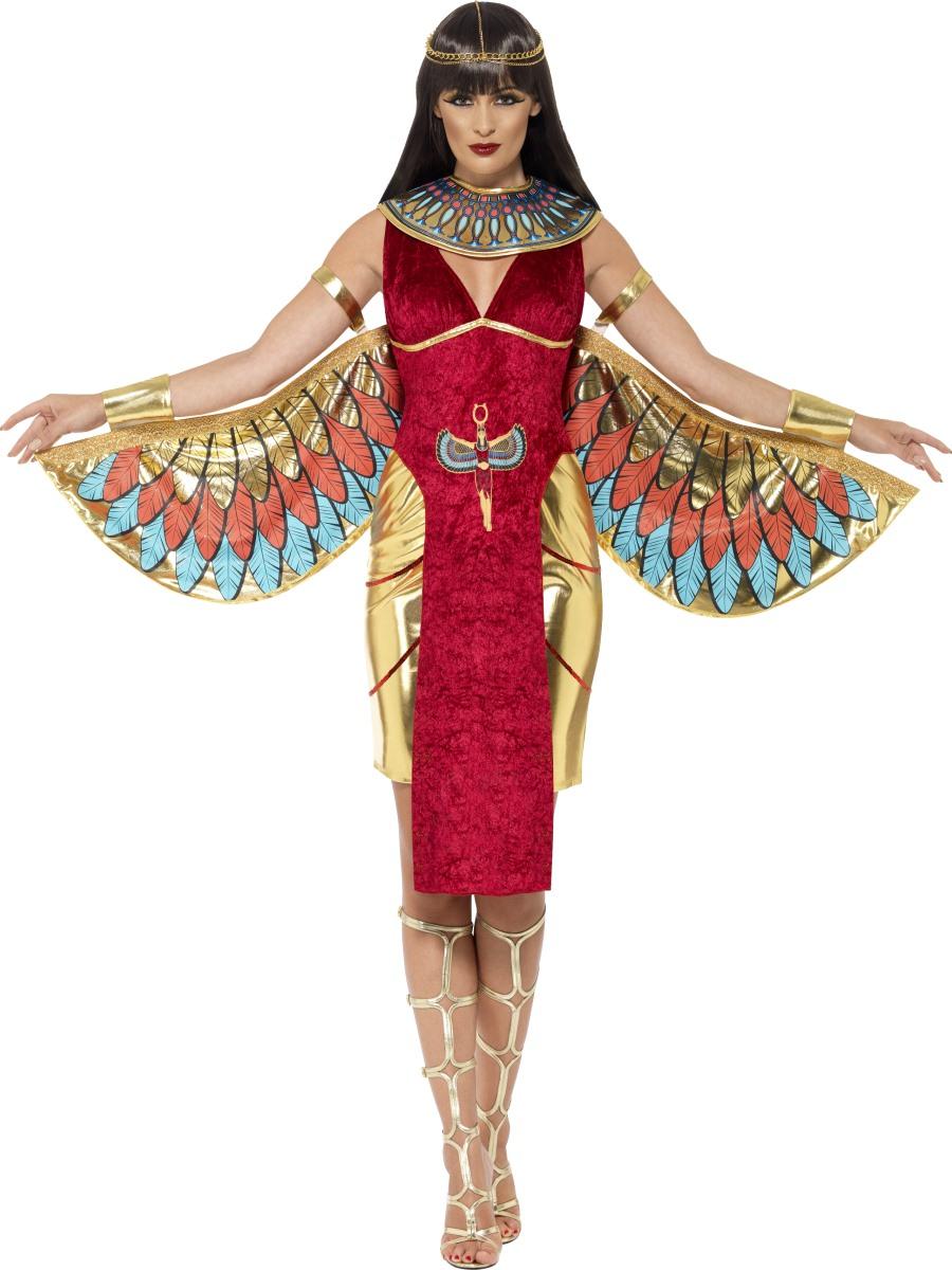 Adult Isis Goddess Costume  sc 1 st  Fancy Dress Ball & Ladies Cleopatra Fancy Dress Costumes u0026 Wigs | Fancy Dress Ball