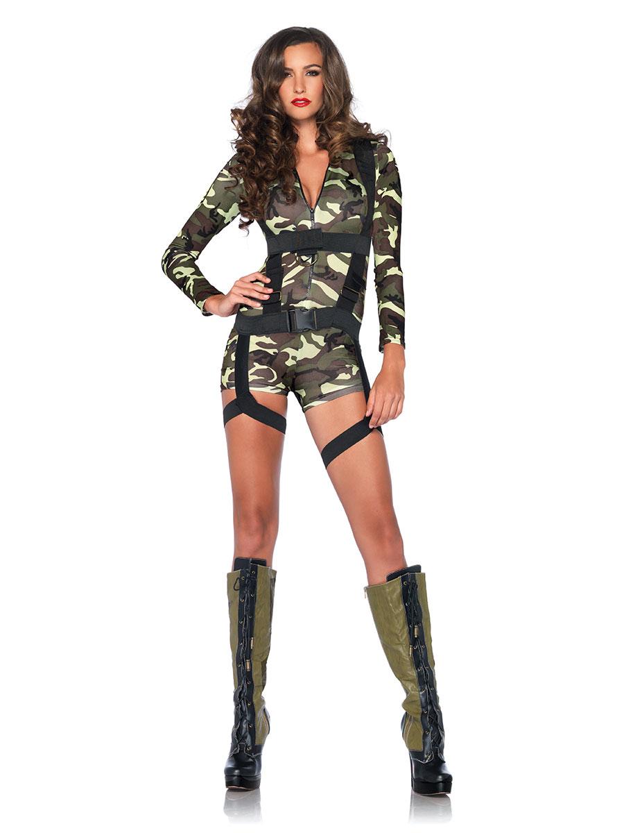 Adult Goinu0027 Commando Costume  sc 1 st  Fancy Dress Ball & Womenu0027s Army Fancy Dress u0026 Millitary Costumes | Fancy Dress Ball