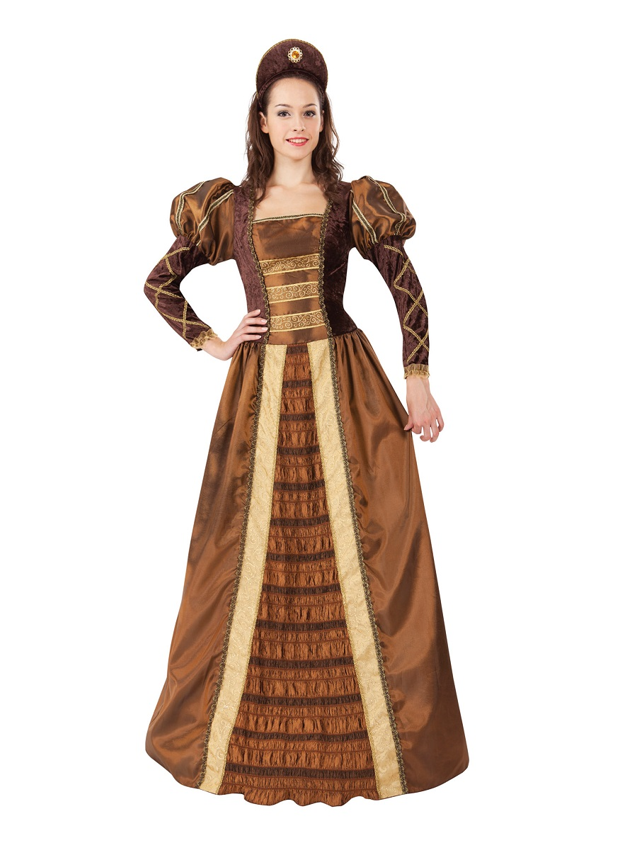 Adult Golden Queen Costume Ac647 Fancy Dress Ball