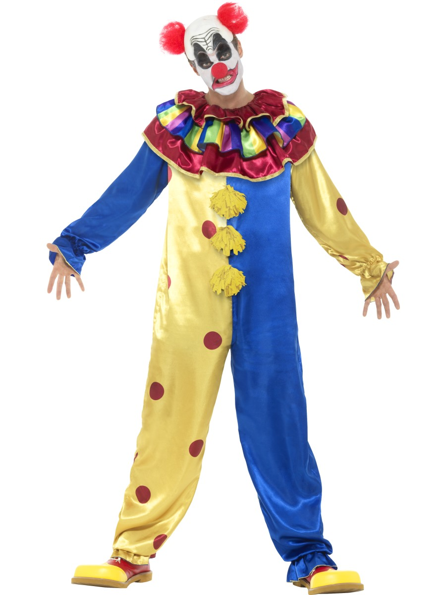 adult goosebumps clown costume 42950 fancy dress ball