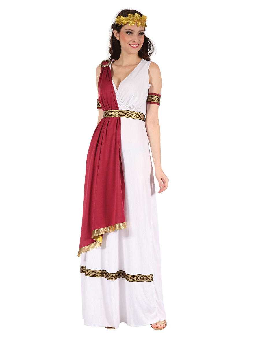 Adult Greek Goddess Costume - AC398 - Fancy Dress Ball