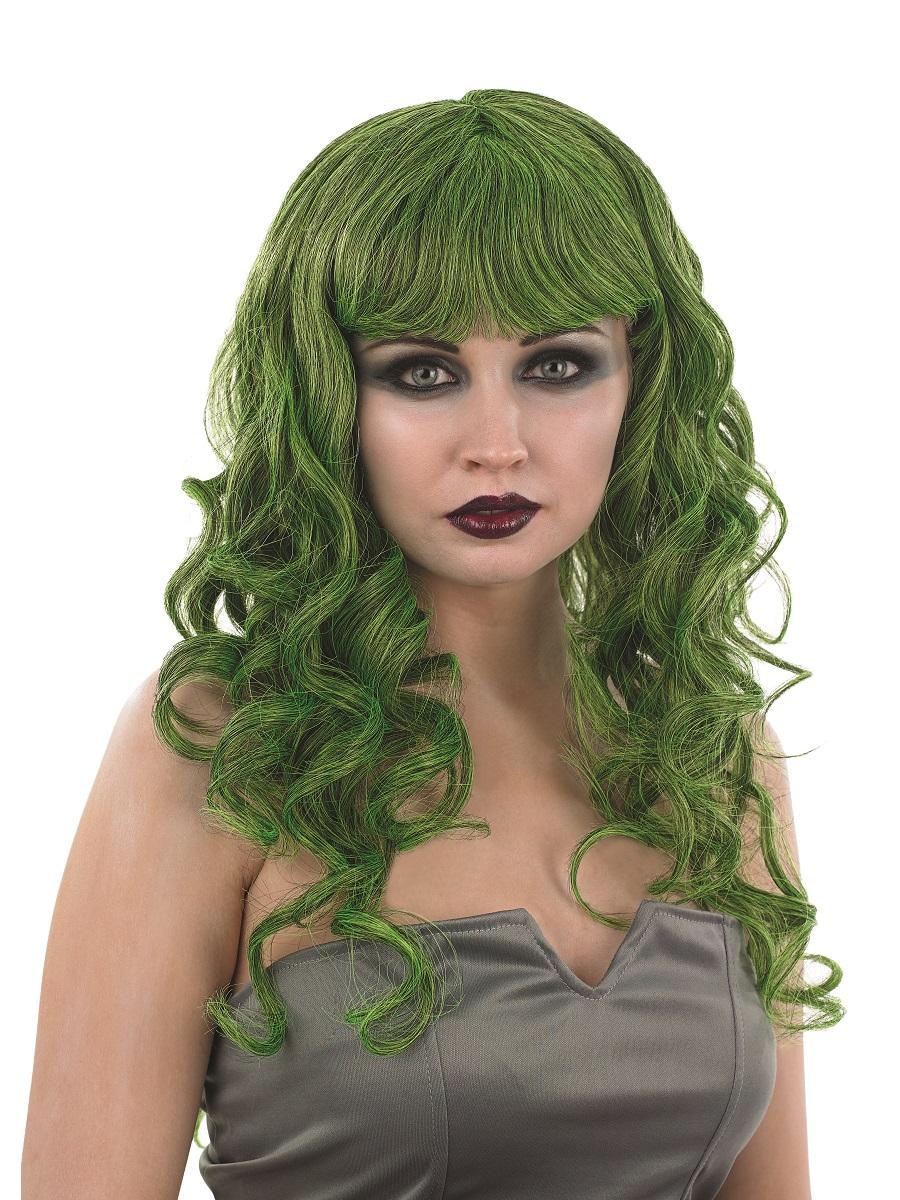 Adult Green Temptress Wig - FS2876 - Fancy Dress Ball