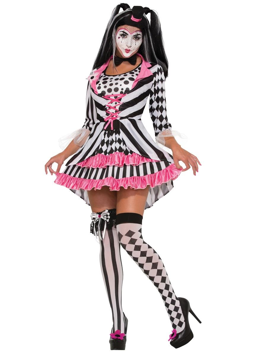 Adult Harlequin Clown Ring Mistress Costume  sc 1 st  Fancy Dress Ball & Circus Fancy Dress Circus Costumes | Fancy Dress Ball