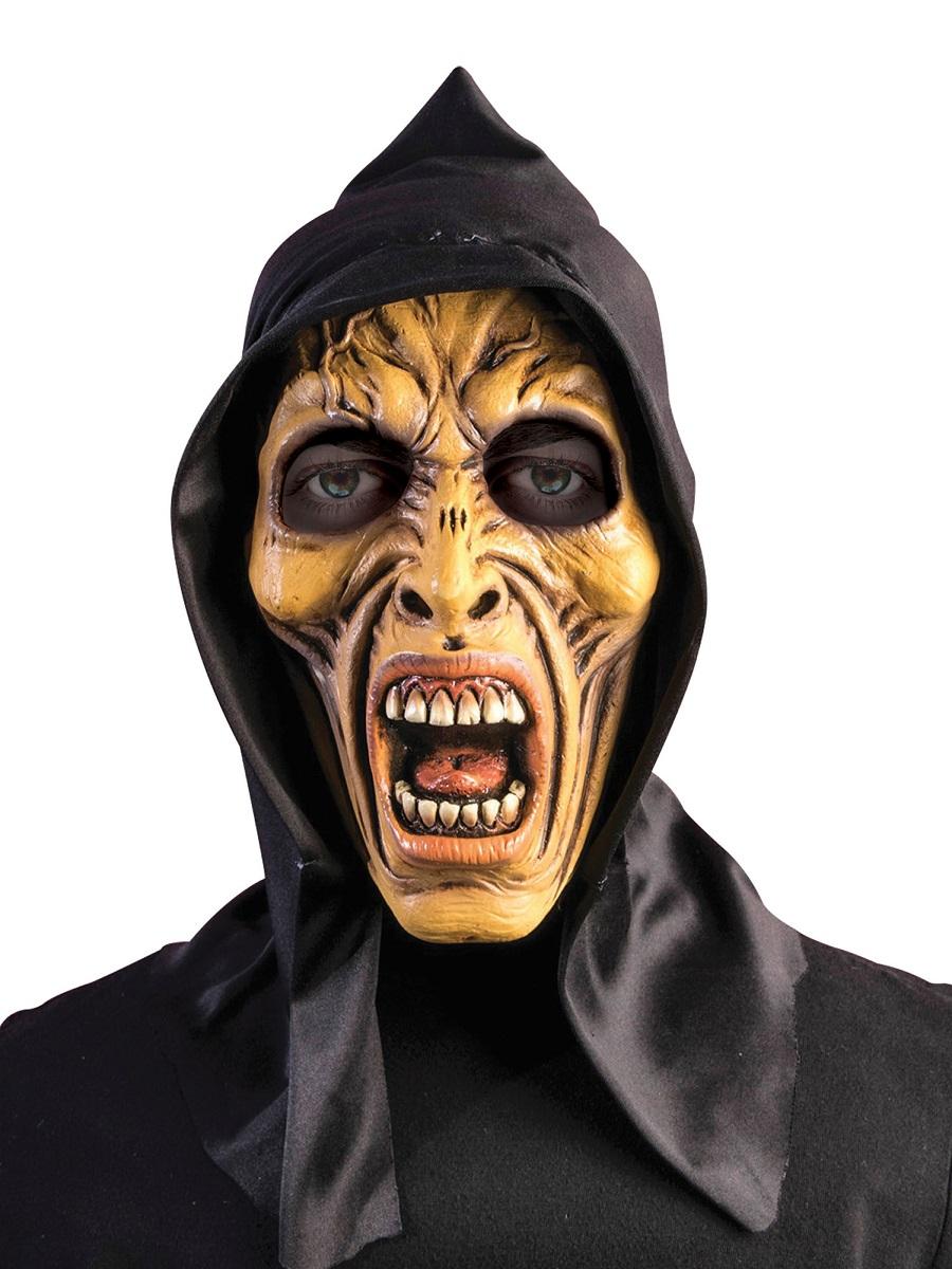 Adult Hooded Zombie Mask Bm512 Fancy Dress Ball