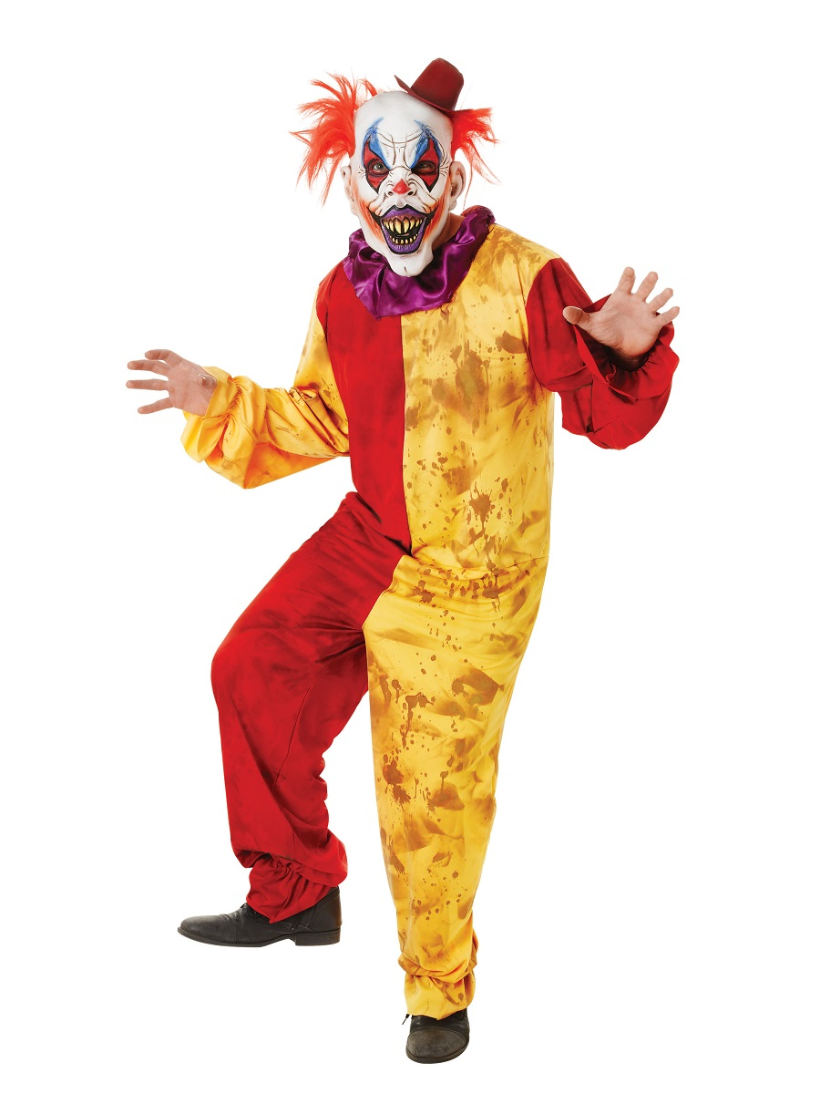 Adult Horror Clown Costume - AC064 - Fancy Dress Ball