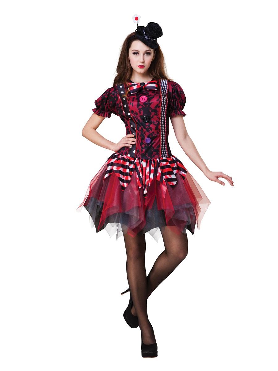 adult horror clown costume ac085 fancy dress ball