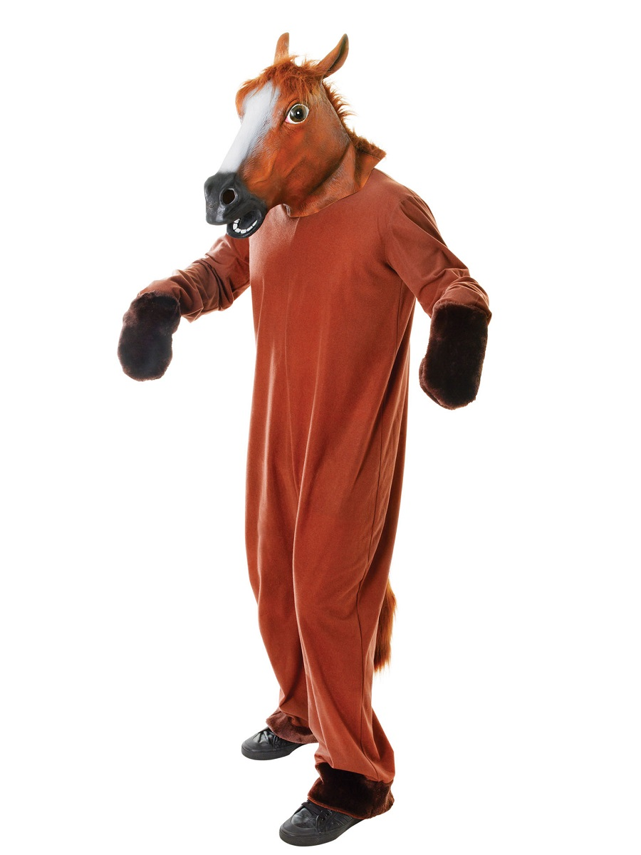 Adult Horse Costume Ac417 Fancy Dress Ball