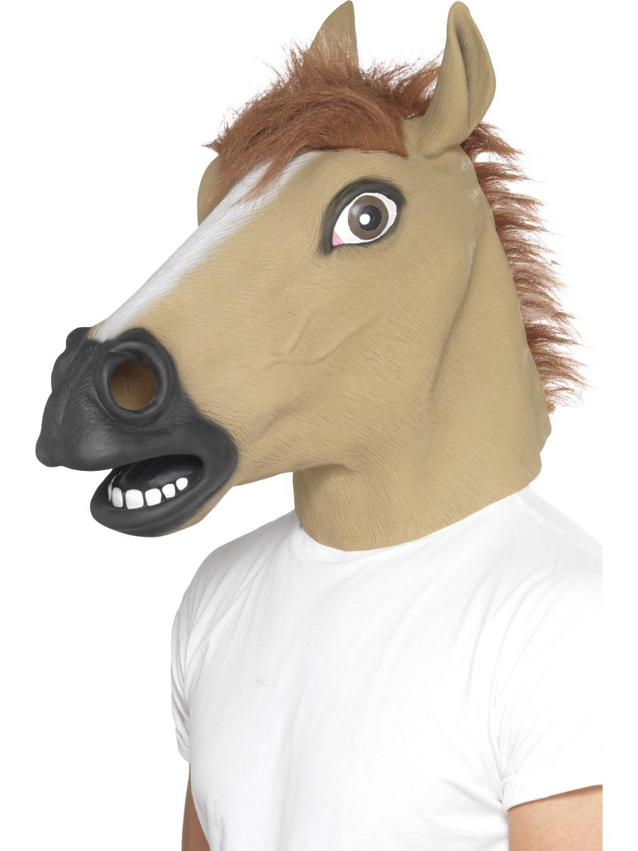 Adult Horse Mask 39509 Fancy Dress Ball