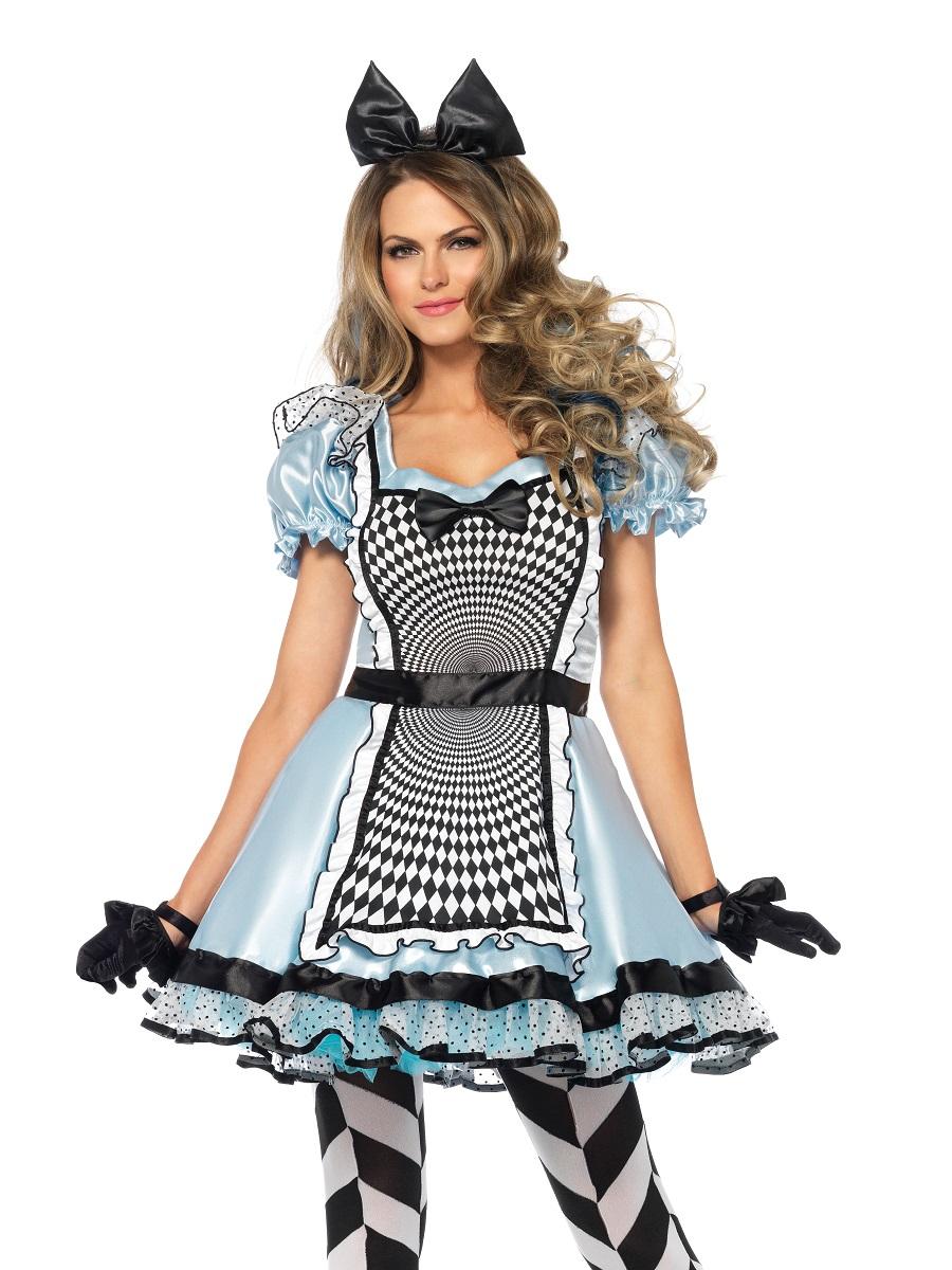 Adult Hypnotic Miss Alice Costume 85533 Fancy Dress Ball