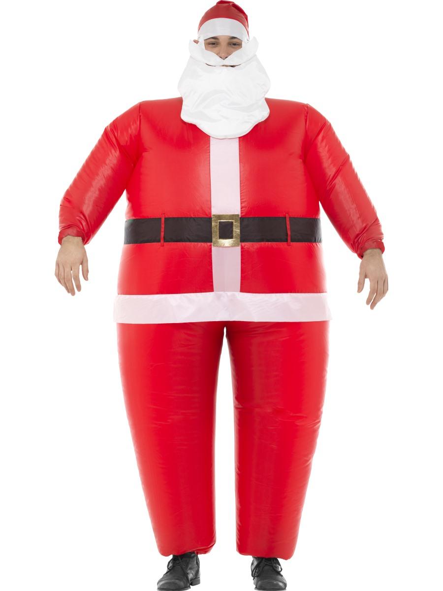 Adult inflatable santa costume  fancy dress ball