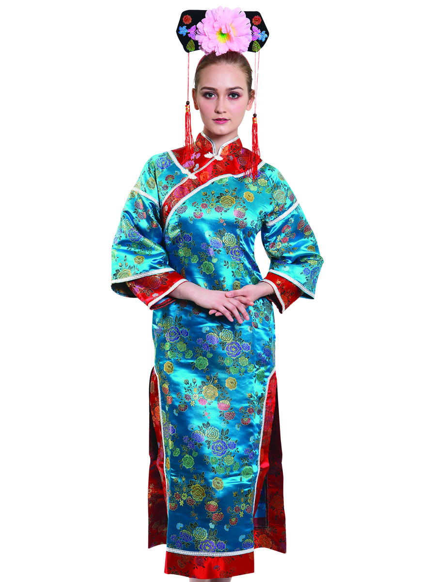 Adult Japanese Lady Costume Af105 Fancy Dress Ball