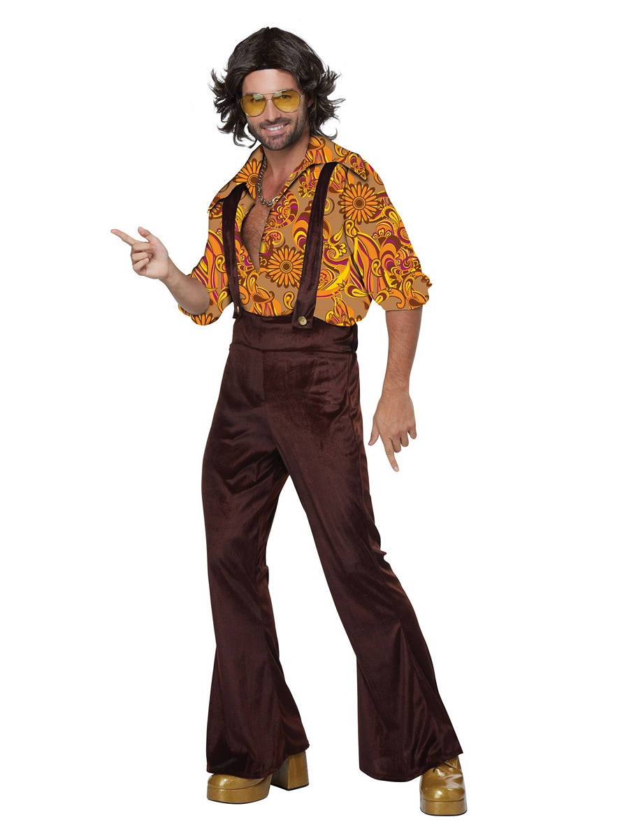 Adult Jive Talkin Disco Dude Costume